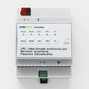 ambiHome Controlbox KNX-Smart Home